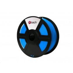 C-TECH Tisková struna (filament) PLA, 1,75mm, 1kg, modrá 3DF-PLA1.75-B