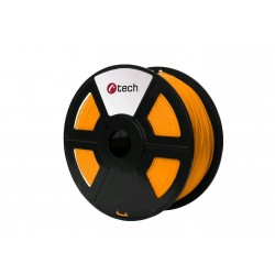 C-TECH Tisková struna (filament) PLA, 1,75mm, 1kg, oranžová...