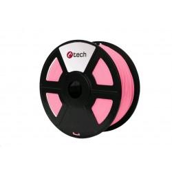 C-TECH Tisková struna (filament) PLA, 1,75mm, 1kg, růžová...