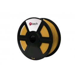 C-TECH Tisková struna (filament) PLA, 1,75mm, 1kg, zlatá...