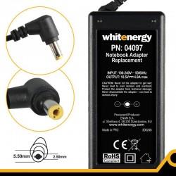 Whitenergy napájecí zdroj 18.5V/4.9A 90W konektor 5.5x2.5mm, HP, Compaq 04097