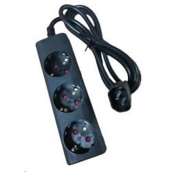 Eaton kabel / prodlužovací přívod do UPS, koncovka IEC C14, 3...