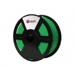 C-TECH Tisková struna (filament) PETG, 1,75mm, 1kg, zelená...