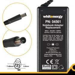 Whitenergy napájecí zdroj 18.5V/3.5A 65W konektor 7.4x5.0mm + pin HP Compaq 04561-BL