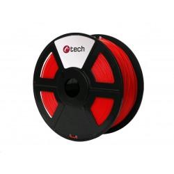 C-TECH Tisková struna (filament) PETG, 1,75mm, 1kg, červená...
