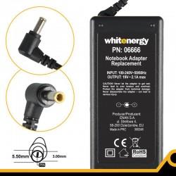 Whitenergy napájecí zdroj 19V/2A 38W konektor 5.5x3.0mm + pin 06666