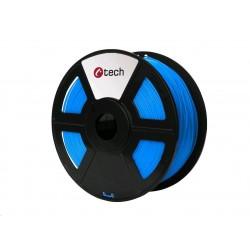 C-TECH Tisková struna (filament) PETG, 1,75mm, 1kg, modrá...