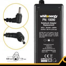 Whitenergy napájecí zdroj 19V/2.37A 45W konektor 4.0x1.35mm 10090