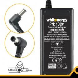 Whitenergy napájecí zdroj 19.5V/4.62A 90W konektor 4.5x3.0mm 10091