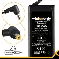 Whitenergy napájecí zdroj 20V/3.25A 65W konektor 5.5x2.5mm Blister 05377-BL