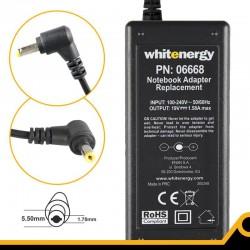 Whitenergy napájecí zdroj 19V/1.58A 30W konektor 5.5x1.7mm 06668