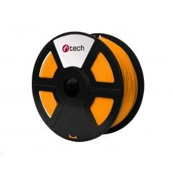 C-TECH Tisková struna (filament) PETG, 1,75mm, 1kg, oranžová...