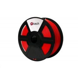 C-TECH Tisková struna (filament) HIPS, 1,75mm, 1kg, červená...