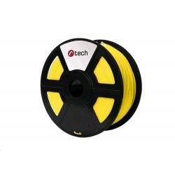 C-TECH Tisková struna (filament) HIPS, 1,75mm, 1kg, žlutá...