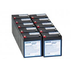 AVACOM bateriový kit pro renovaci RBC143 (10ks baterií) AVA-RBC143-KIT