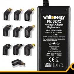 Whitenergy 70W AC univerzálny automatický napájací zdroj pre Netbooky 10koncovek 08342