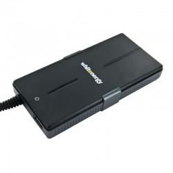 Whitenergy 90W AC univerzálny napájací zdroj pre notebooky, Super Slim, USB 08783