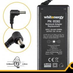 Whitenergy napájecí zdroj k LCD 14V/3A 42W konektor 6.5 x 4.4mm + pin Samsung 05382