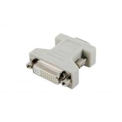 4World Adaptér DVI-I 24+5F - VGA M Black 08740