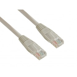 4World Patch kabel RJ45 Cat5e UTP 7.5m Gray 06560