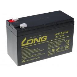 Long 12V 7,2Ah olověný akumulátor F2 PBLO-12V007,2-F2A
