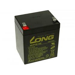 Long 12V 5Ah olověný akumulátor F2 PBLO-12V005-F2A