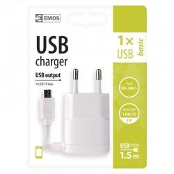 USB napájecí adaptér s kabelem (micro USB) 1704011600