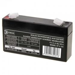 AKUMULÁTOR SLA 6V/1,3Ah FA -4,7mm 1201000500