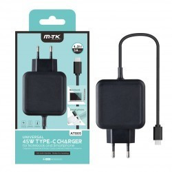 Aligator nabíječka USB-C pro NTB a Mobily 3A černá 0051562