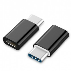 Adaptér Gembird USB 2.0 Type-C (CM/microUSB-F) A-USB2-CMmF-01