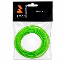 3DW - PLA filament 1,75mm fluozelen.,10m, tisk 190-210°C D12614
