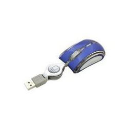 Esperanza EM109B CELANEO optická mini myš, 800 DPI, USB, navíjací kábel, modrá EM109B - 5905784767376
