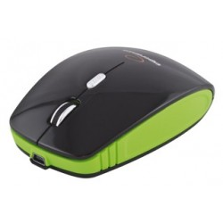 Esperanza EM121G bezdrôtová optická myš, 1600 DPI, 2.4GHz, nabíjací kábel, čiern EM121G - 5901299901670