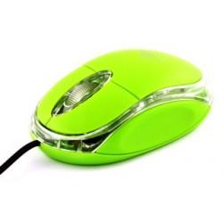 Titanum TM102G RAPTOR optická myš, 1000 DPI, USB, blister, zelená TM102G - 5901299901649