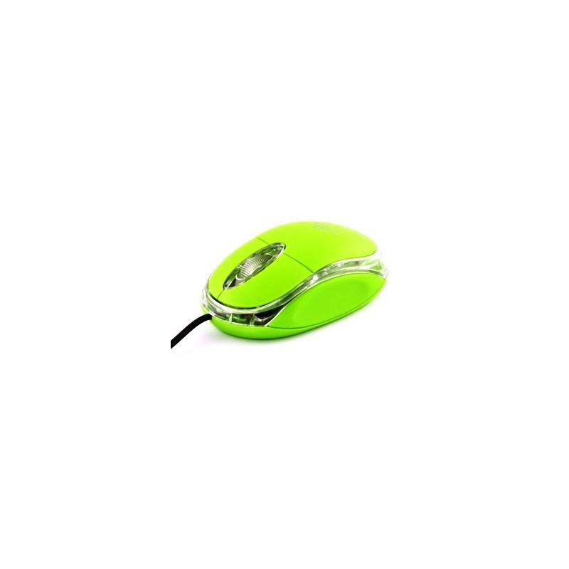 Esperanza Titanum TM102G RAPTOR optická myš, 1000 DPI, USB, blister, zelená TM102G - 5901299901649