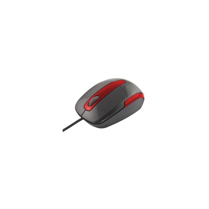Esperanza Titanum TM108K BARRACUDA optická myš, 1000 DPI, USB, blister, čierna TM108K - 5901299901762