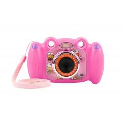 Digitální fotoaparát pro děti Ugo Froggy, růžový, 1,3mpx, video...