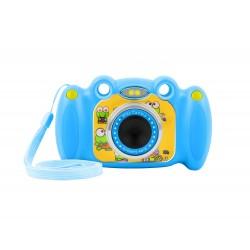 Digitální fotoaparát pro děti Ugo Froggy, modrý, 1,3mpx, video Full...