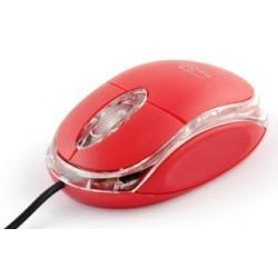 Titanum TM102R RAPTOR optická myš, 1000 DPI, USB, blister, červená TM102R - 5901299901656