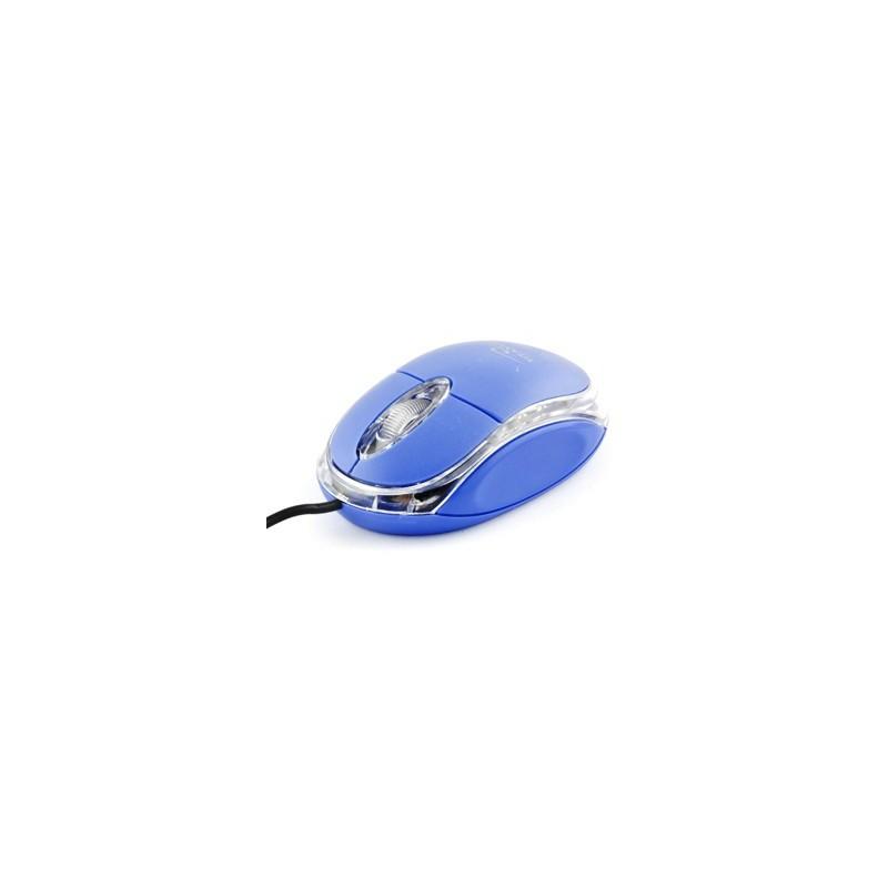 Esperanza Titanum TM102B RAPTOR optická myš, 1000 DPI, USB, blister, modrá TM102B - 5901299901632