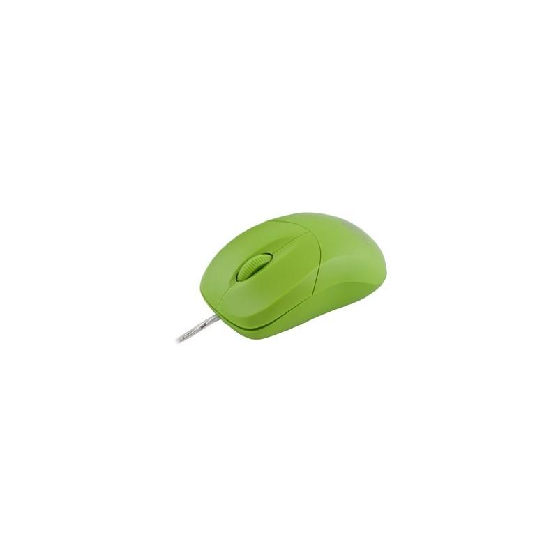 Esperanza Titanum TM109G AROWANA optická myš, 1000 DPI, USB, blilster, zelená TM109G - 5901299901786