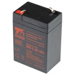 Akumulátor T6 Power NP6-5, 6V, 5Ah T6UPS0009
