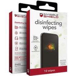 InvisibleShield dezinfekční ubrousky 10 ks DEZUBRZG10XWH