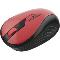 Esperanza Titanum TM114R RAINBOW bezdrôtová optická myš, 1000 DPI, 2.4GHz, 3D, červená TM114R - 5901299904756
