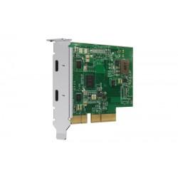 QNAP QXP-T32P - Thunderbolt™ 3 (2 porty) rozšiřující karta pro QNAP...