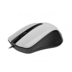 Gembird optická myš 1200 DPI, USB, biela MUS-101-W