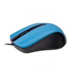 Gembird optická myš 1200 DPI, USB, čierno-modrá MUS-101-B