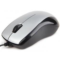 Gembird optická myš 1000 DPI, USB, strieborno-čierna MUS-U-002