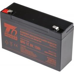Akumulátor T6 Power NP6-12, 6V, 12Ah T6UPS0013