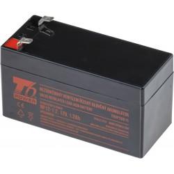 Akumulátor T6 Power NP12-1.2, 12V, 1,2Ah T6UPS0015